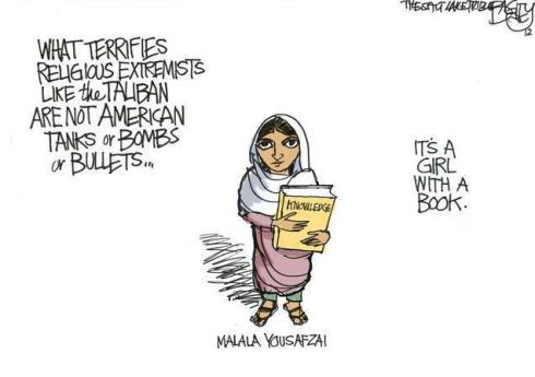 Fight on Malala