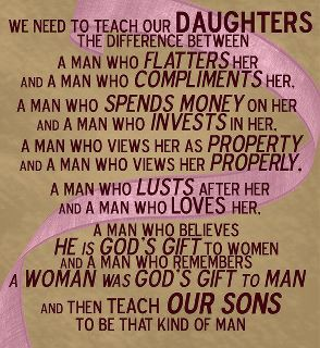 For the daughters & sons